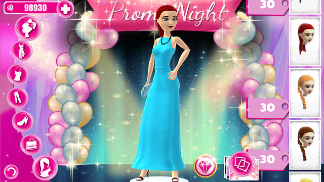 Dress Up Game for Teen Girls: Back to School Fantasy High Fashion Beauty Makeover