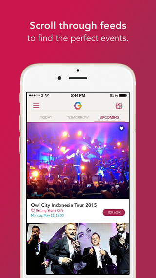 Goers – Makes going out easy Event and activity discovery with online ticket booking in Jakarta