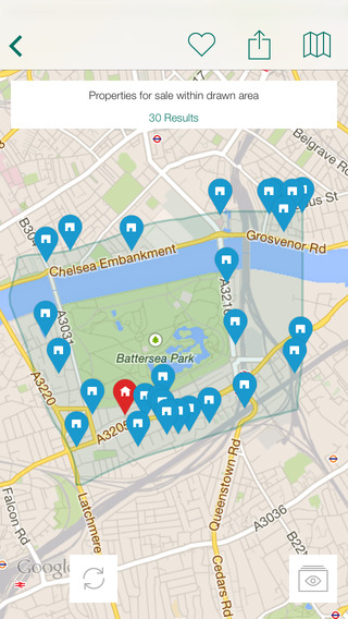 Foxtons Property Search iPhone Screenshot 3