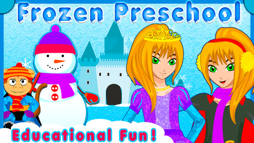 Frozen Preschool - Free Educational Games for kids Toddlers to teach Counting Numbers Colors Alphabe