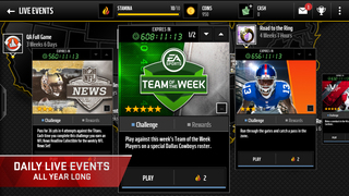 MADDEN NFL Mobile  Screenshot
