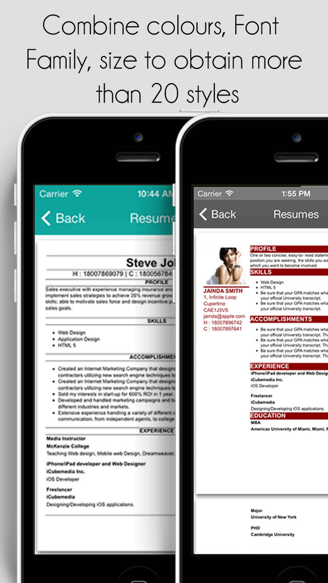 upload resume using iphone bestsellerbookdb