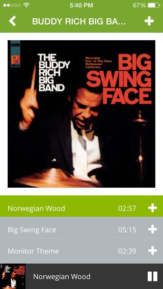 NML Jazz iPhone Screenshot 3