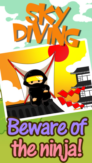 Amazing Sky Diving Ninja Free - Death From Above
