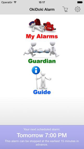 OkiDoki Alarm