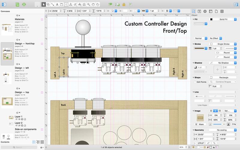 强大的绘图软件 OmniGraffle 6 for Mac