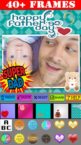 Father's Day Frames and Posters