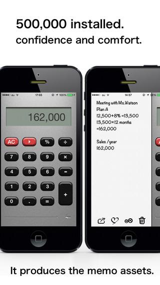 Calculator + Notepad ge-calc