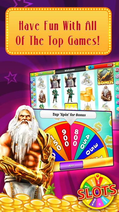 Screenshot 2 Колесо удачи слотов -по Казино Fortune- онлайн игра казино машин!
