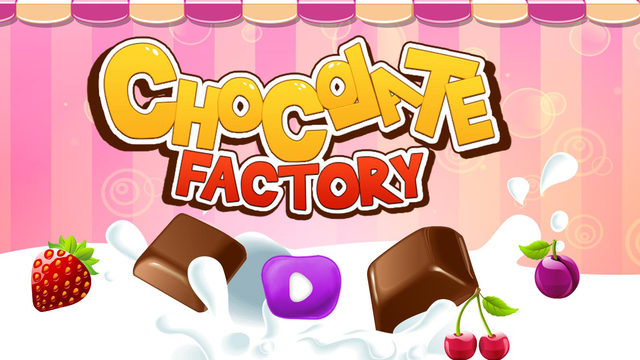 Chocolate Factory - Crazy dessert candies maker chef game for kids