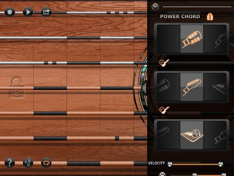 iFretless Guitar Screenshots