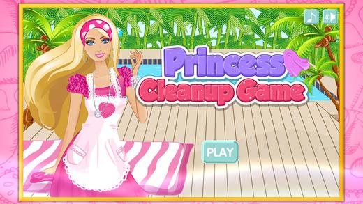 Princess Cleanup game ^0^