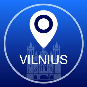 交通運輸App Vilnius Offline Map + City Guide Navigator, Attractions and Transports LOGO-3C達人阿輝的APP