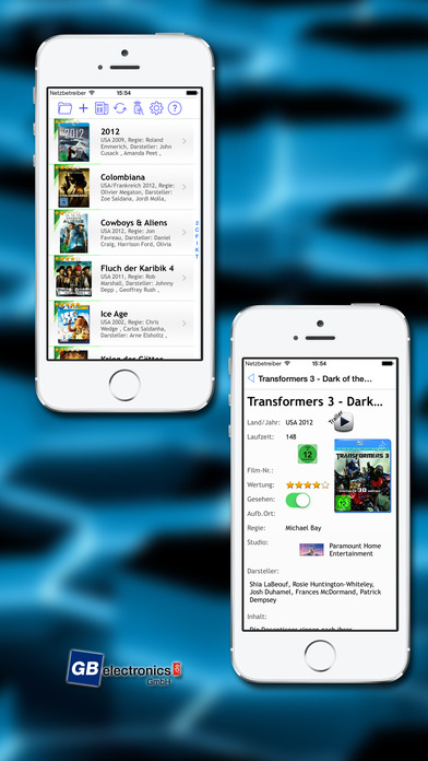 DVDdb iPhone Screenshot 1