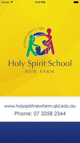 Holy Spirit School New Farm - Skoolbag