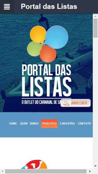 Portal das Listas