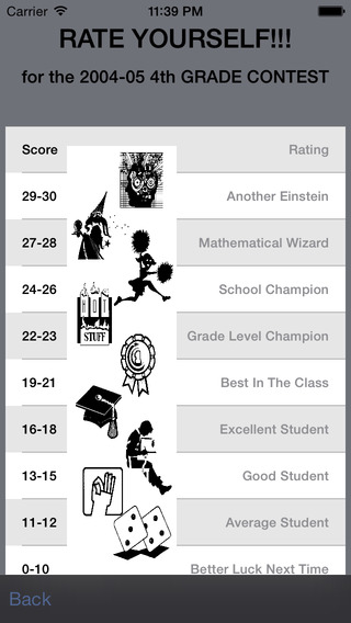 Math League Contests (For Student) iPhone Screenshot 5