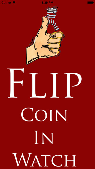 Flip Coin in Watch
