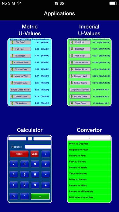 Uvalues iPhone Screenshot 1