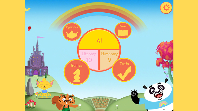 Pippop: Master reading and maths at home and at school