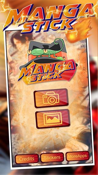 Anime Manga Sticker Camera : Super Hero Reborn Cartoon Sticker Edition Movie 2015