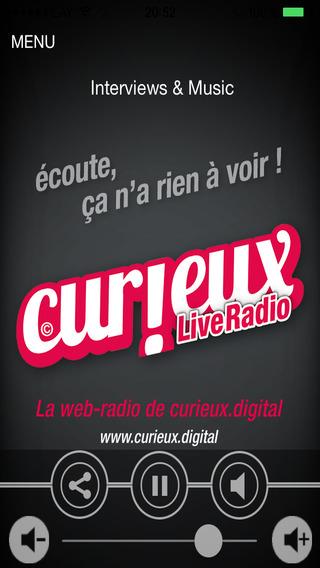 CURIEUX Live Radio
