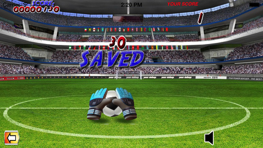 Super Goal Keeper HD