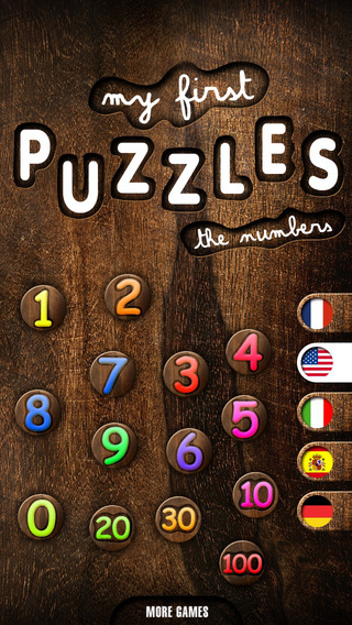 My first puzzles: The Numbers iPhone Screenshot 2
