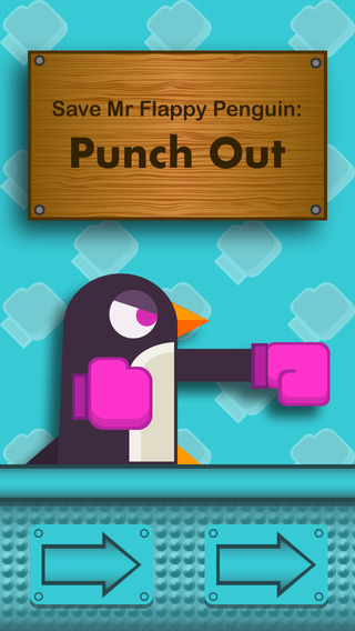 Save Mr Flappy Penguin: Punch Out