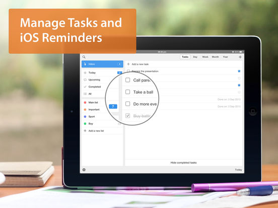 Calendars 5 - Event and Task Manager with Google Calendar Sync screenshot