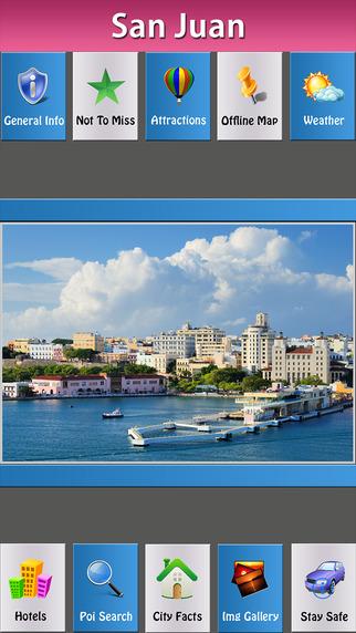 San Juan Offline Map City Guide