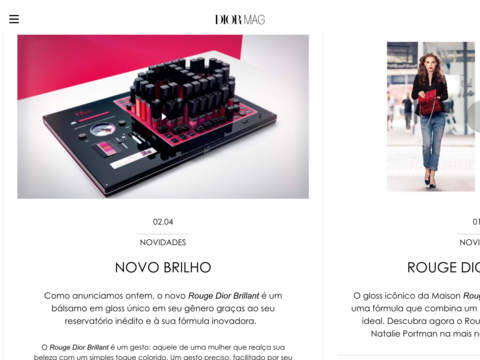 DIORMAG, All the latest Dior news Screenshots