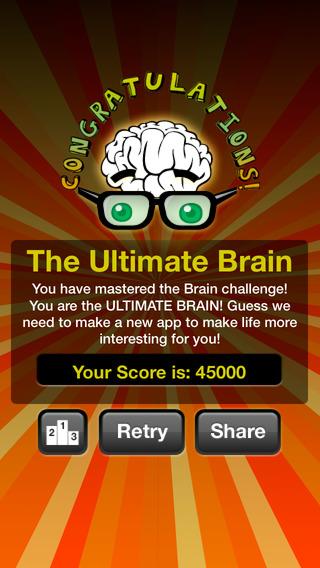 Ultimate Brain Workout iPhone Screenshot 5