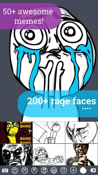 Rage Meme Keyboard