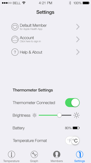 Swaive Thermometer