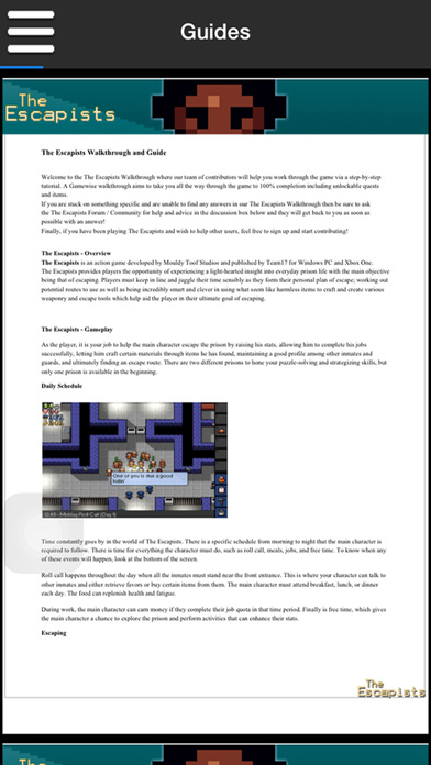 Pro Game - The Escapists Version screenshot 2