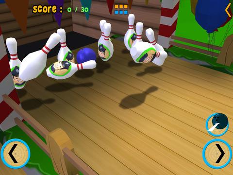 Horse bowling for children vip iPad Screenshot 4