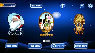 Screenshot 4 Ааа Рождество Джекпот Радость Профи — Слушать лучших бесплатных игр прохладном игры футбол спорт онлайн для