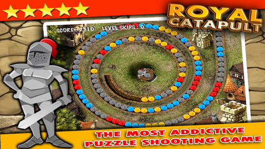 Royal Catapult PRO - Defend your kings castle from the marble blast revolt