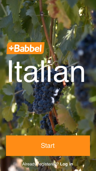 Learn Italian with Babbel