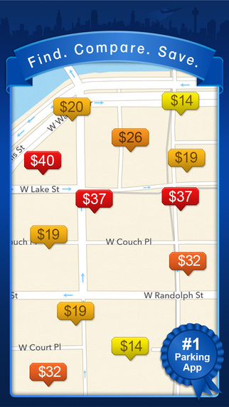 BestParking - Find the Best Daily and Monthly Parking Garages Lots in North American Cities Airports