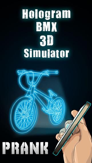 Hologram BMX 3D Simulator