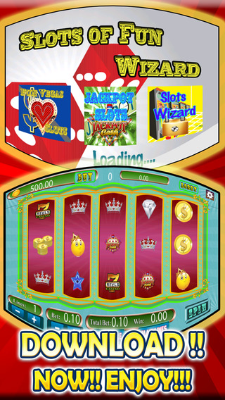 Slots of Fun Wizard in Magic Wonderland and Big Win Craze Casino Journey