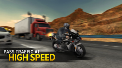 Screenshots of Highway Rider for iPhone