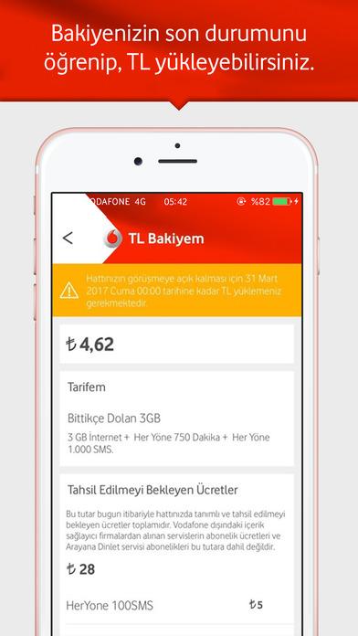 Vodafone Yanımda screenshot