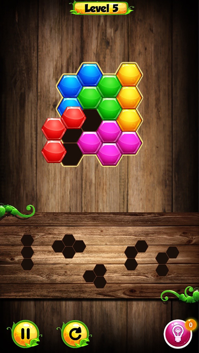 Hexadrop Puzzle screenshot 4