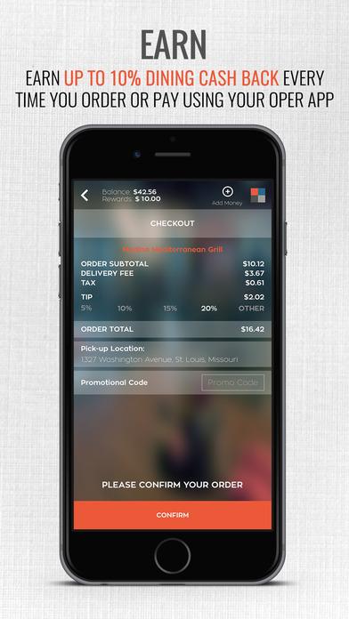 download OPER - Get up to 10% Dining Cash Back apps 4