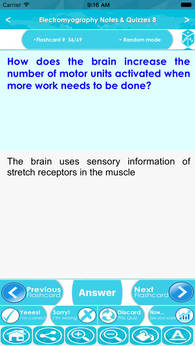 Electromyography (EMG) Exam Review & Test Bank App screenshot 4