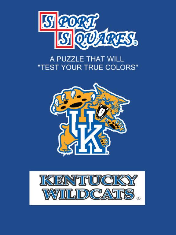 Kentucky Wildcats Sport Squares screenshot 7