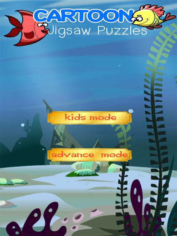App shopper bubble fish jigsaw finding puzzle games for Bubble fish games